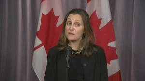 'It's Canada's turn': Freeland says debate on CUSMA important before ratification