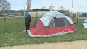 It was tent city for the homeless but after the City of Kelowna relocated the camp, it's relieved some of the pressure on the 200-block of Leon Avenue and the Gospel Mission shelter