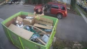 Dumpster fire shocks Edmonton's Bonnie Doon