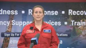 BC Wildfire Service describes Christie Mountain wildfire terrain