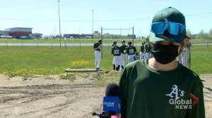 Outdoor sports return in Regina (01:37)