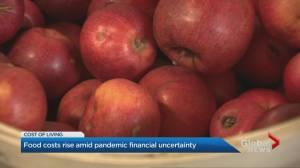 Rising food costs create more coronavirus pandemic uncertainty in Toronto (02:29)