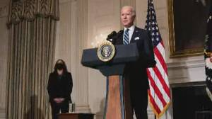 U.S. puts climate change back on agenda under Biden (02:45)