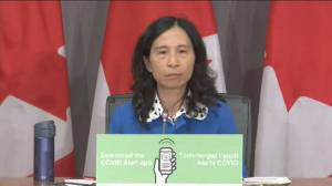 Coronavirus: Dr. Tam stresses quarantine period is 14 days as Bloc MPs, leader in isolation after staffer tests positive (02:48)