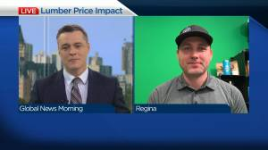 Lumber prices causing some uncertainty for renovations (03:47)