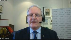 Garneau accuses Iran of 'laying the blame on low-level people', not providing accountability for Ukrainian Airlines crash (04:16)