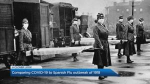 The parallels between COVID-19 and the Spanish Flu