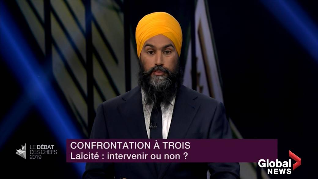 Jagmeet Singh reiterates that he does not want to intervene on Bill 21