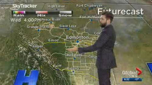 Global Edmonton weather forecast: Feb. 18 | Watch News Videos Online