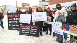 Durham teachers and autism community picket for common goal