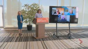 Coronavirus: Grieving families join NDP to call to Alberta government for changes to senior's homes