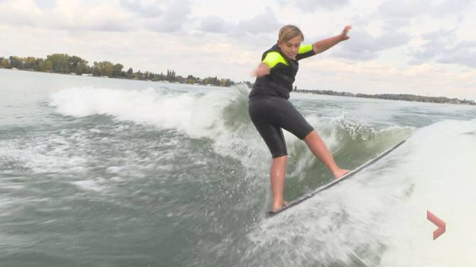 Chestermere boy taking wake surfing world by storm