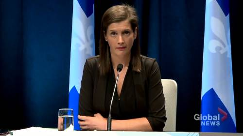Deputy Premier has dire warning for Quebec City region, as COVID-19 infections multiply | Watch News Videos Online