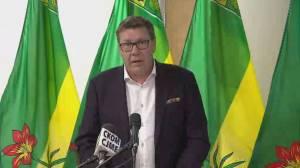 Saskatchewan premier announces mask order, proof of vaccination policy (06:23)