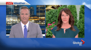 B.C. evening weather forecast: August 2 (02:15)