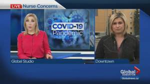 Edmonton nurses refuse to administer COVID-19 tests over personal health concerns