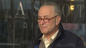 Schumer urges Republicans to confirm Biden cabinet nominees quickly, says they're working on impeachment trial plan (00:58)