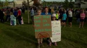 North Calgary residents rally for new high school