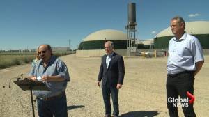 Province announces grants to further boost southern Alberta's agriculture sector (01:54)