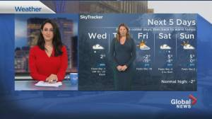 Global News Morning weather forecast: February 24, 2021 (01:40)