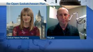 Saskatchewan association of optometrist president Dr. Nathan Knezacek on 1st step of reopening plan