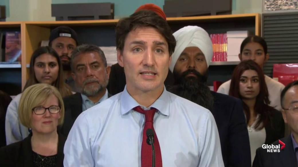 Trudeau criticizes Doug Ford's handling of autism supports but won't commit to national strategy