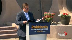 Rob Norris calls for change at Saskatoon city hall, officially enters mayor's race