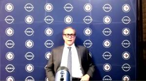 RAW: Jets coach Paul Maurice interview after OT win over Sens (08:47)