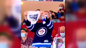 Jets fan thankful for support after alleged post-game attack in Montreal (01:37)