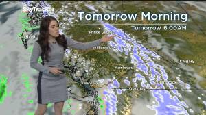 Kelowna Weather Forecast: December 26