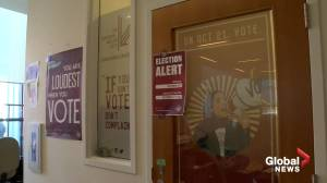 Muslim-Canadians encouraged to vote in advance polls (01:45)