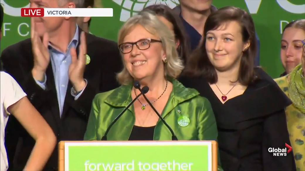 Greens' Vancouver Island breakthrough fizzles, but party says it will 'not relent'