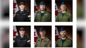Canadian Forces members killed in helicopter crash honoured during ramp ceremony at CFB Trenton (06:45)