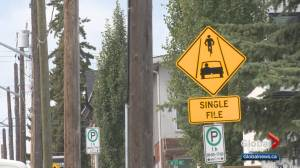 Calgary drivers beware: new safe-passing bylaw takes effect Sept. 1