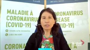 Canada may experience 4th COVID-19 wave driven by Delta variant: Dr. Tam (00:56)