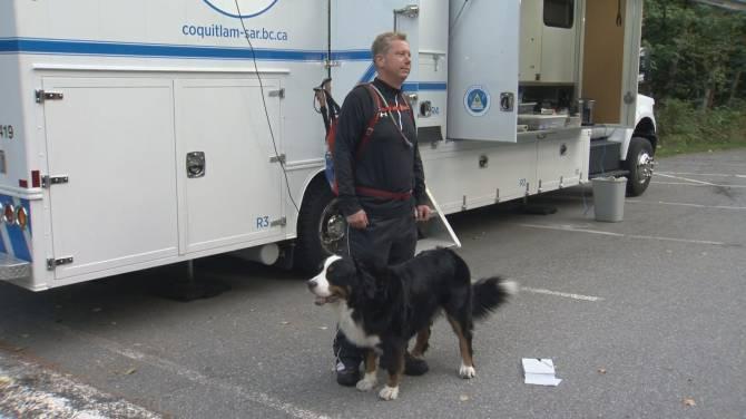Coquitlam crews rescue injured Maple Ridge man, dog near Buntzen Lake