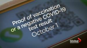 Saskatchewan brings mandatory masks back, proof of vaccination coming Oct. 1 (02:22)