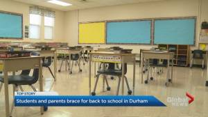 Durham region students head back to class on Tuesday