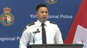 York Regional Police discuss human trafficking investigation 'Project Convalesce'