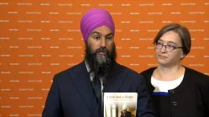 Federal election 2019: Jagmeet Singh discusses 'super wealth' tax, decision not to balance budget