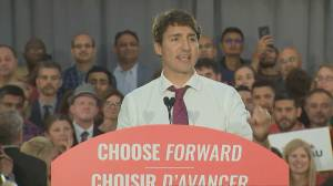 Federal Election 2019: Trudeau says Canada 'on schedule' to lift remaining boil water advisories