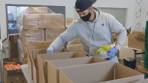 Young man helps fight food insecurity in Durham Region (02:56)