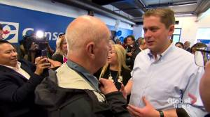 Federal Election 2019: Scheer visits Etobicoke-Lakeshore MP candidate campaign office
