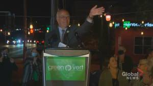 Experts say provincial Green party well positioned to avoid fallout (01:56)