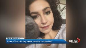 Sister describes desperate search for Tess Richey, discovery of her body