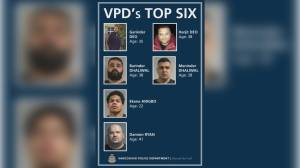 Vancouver police identify six gangsters posing 'significant risk' to public safety (05:10)