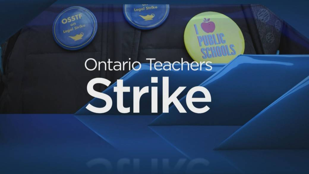 Rotating strikes by Ontario elementary teachers to continue next week