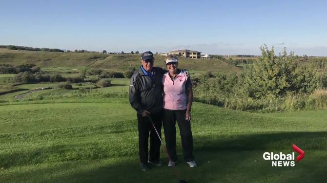 Click to play video: Man on a mission to golf every course in Alberta