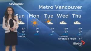 B.C. evening weather forecast: January 16 (02:19)