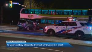 13-year old-boy with life-altering injuries after North York joyride ends in crash